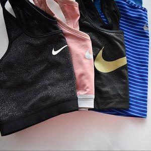 NIKE Various Sports Bra Bundle